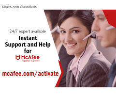 How to install McAfee security product?