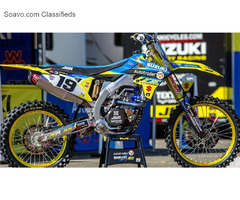 Factory MX Graphics With Its Suzuki Dirt Bike Graphics