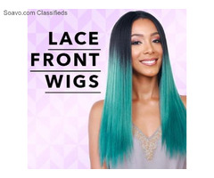 Buy Lace Front Wigs | 100% Human Hair Pieces