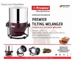 Shop Premier Tilting Chocolate Refiner- chocolatemelangeur.com