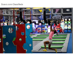 Ninja Warrior Course in Florida – Flip Factory Zone