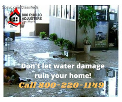 Professional Insurance Claim for Water Damage New York